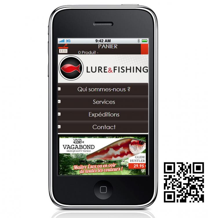 LURE & FISHING Responsive design