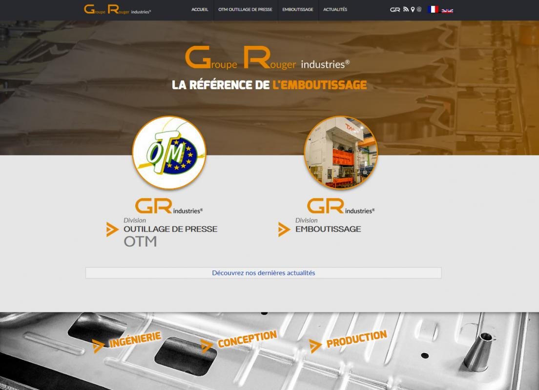 Groupe Rouger |  GR industries